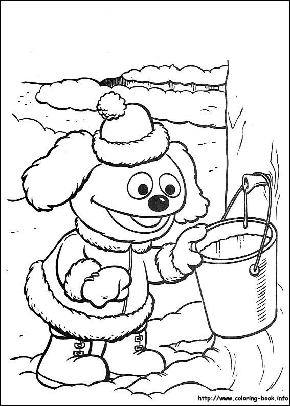 146 Best Disney Muppets Coloring Pages Disney Images