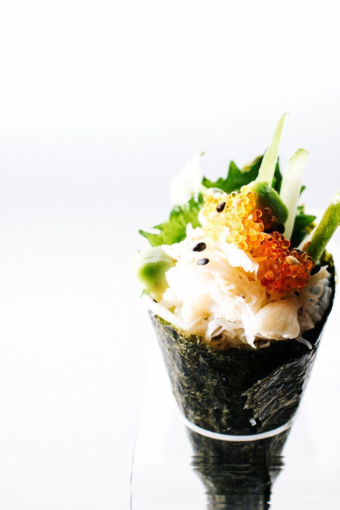 Mini California Sushi Cone  Recipe  Free items Minis and California