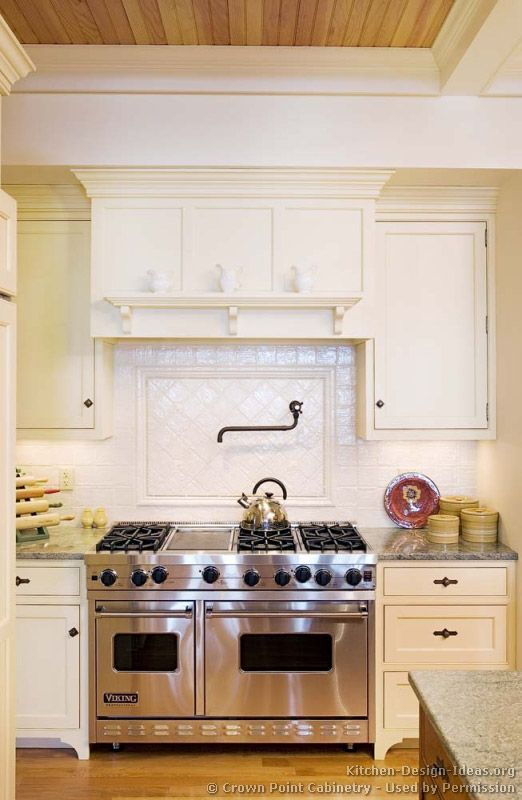 Kitchen Idea of the Day Classic White Kitchens By