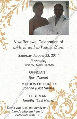 8 Best Images About Vow Renewal Invitations On Pinterest
