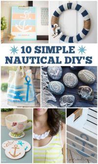25+ Best Ideas about Nautical Craft on Pinterest | Coastal ...