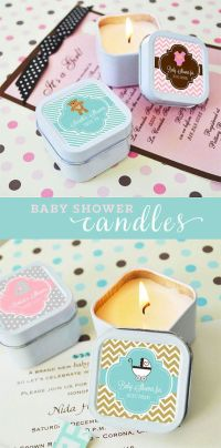 Baby Shower Favor Candles Baby Shower Favors Girl Baby by ...