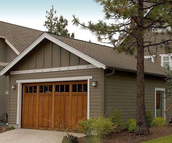 25 best ideas about Craftsman garage door on Pinterest