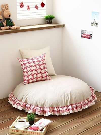 Cute For A Reading Corner Sewing Ideas Pinterest