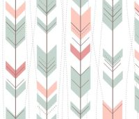 Tribal Arrows Aztec Ikat Pastels by doucettedesigns ...