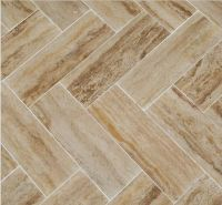 Travertine Tile Trends 2014 | Herringbone, Travertine tile ...