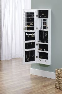 Wall Mounted Jewelry Armoire Building Plans