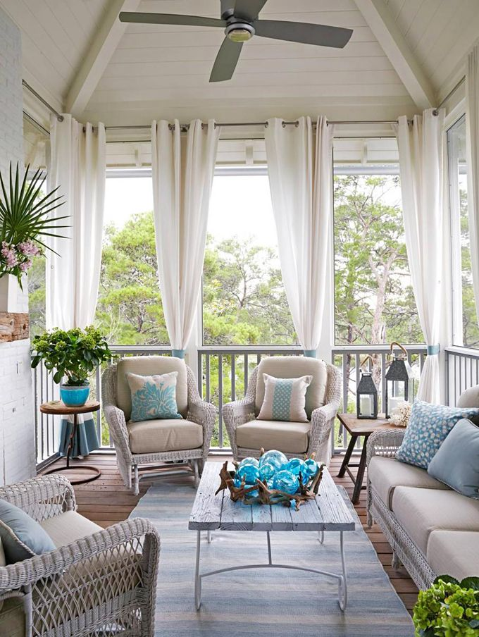 25 Best Ideas About Screened Porch Curtains On Pinterest