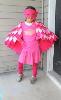 no sew, pj masks costume owlet, diy halloween costume ...