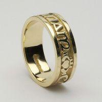 My Wedding Band Option #3 - The Gaelic words 'mo anam cara ...
