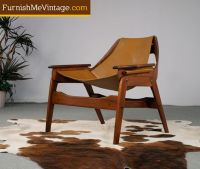 LIKE. Restored Mid Century Modern Jerry Johnson Sling ...