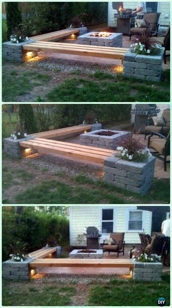 Best 25+ Outdoor fire pits ideas on Pinterest