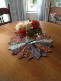 Large Dresden Table Topper | Old ties, Table toppers and ...