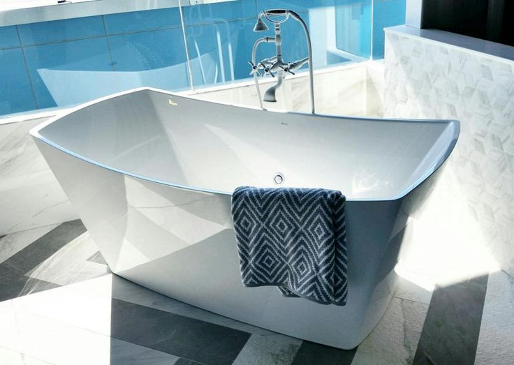 Its All About The Tub Our BainUltra Evanescence Freestanding Tub With Geysair System And