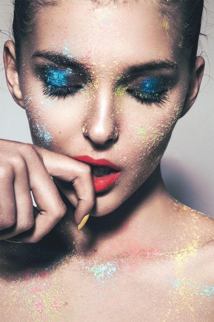25 best ideas about Powder paint photography on Pinterest