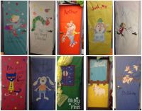 classroom door decorations, books, pete the cat, very ...