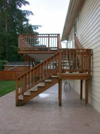 25+ best ideas about Deck stairs on Pinterest | Deck steps ...