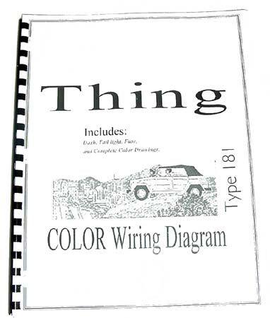 1973 Vw Thing Wiring Diagram 1973 Karmann Ghia Wiring