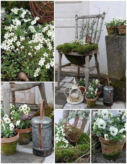 20 Best Images About Diy Garden Crafts On Pinterest Gardens
