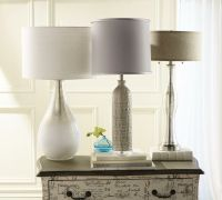 Light up the home with stylish lamps. #SteinMart