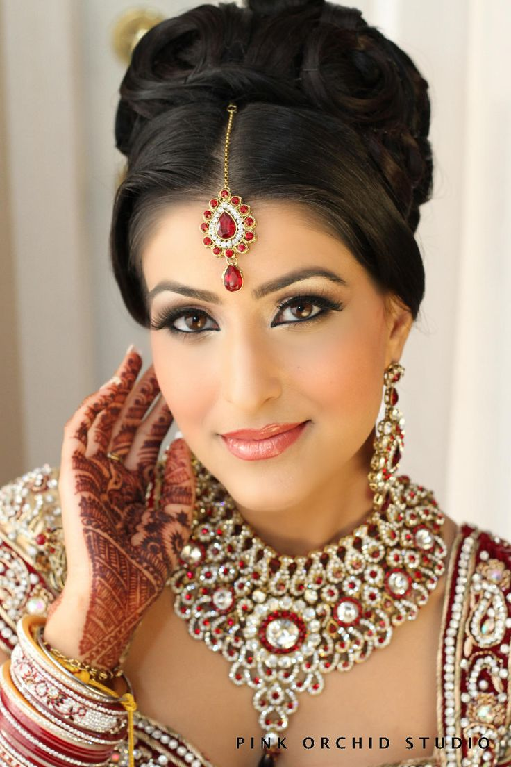 25 Best Ideas About Indian Bridal Makeup On Pinterest Indian