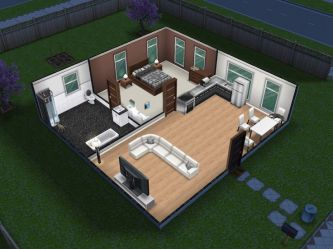 sims freeplay houses simple designs plans layouts tiny play minecraft sim floor layout amazing modern cosy nice blueprints casas building
