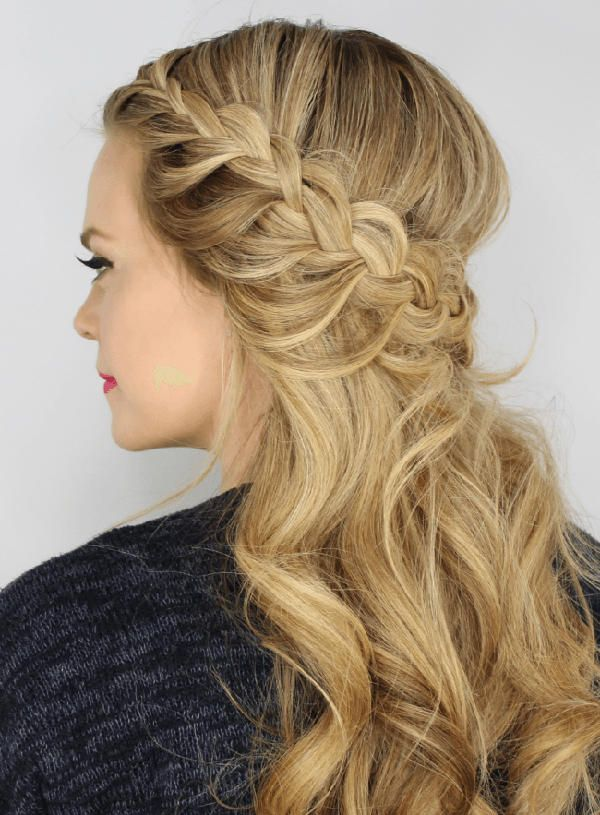 25 Best Ideas About Curly Prom Hairstyles On Pinterest Curly