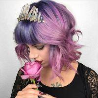 Best 20+ Short Lavender Hair ideas on Pinterest | Lavender ...