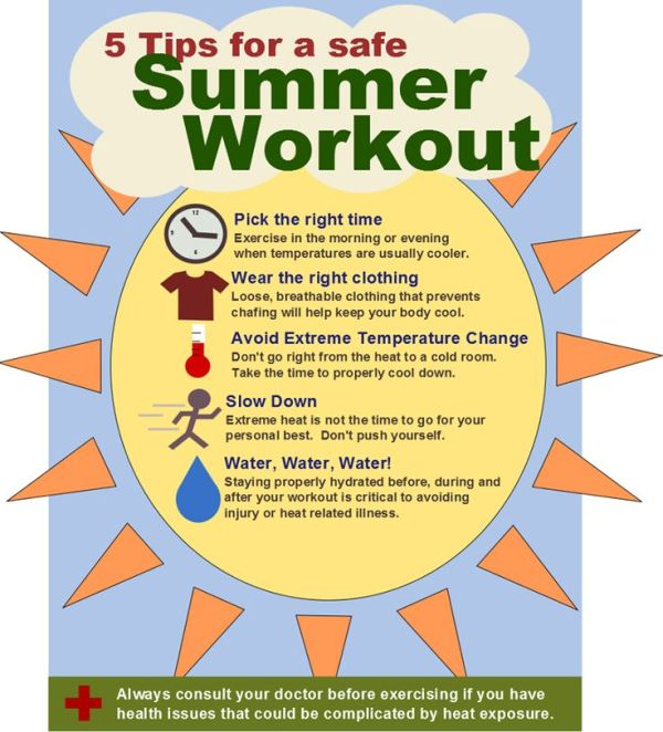 5 Tips for a Safe Summer Workout GET FIT FITNESS