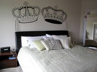 King and Queen Crown wall decal by FASTDESIGNS on Etsy ...