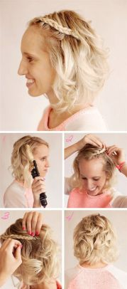 short hairstyles prom