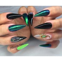 1000+ ideas about Stiletto Nails on Pinterest