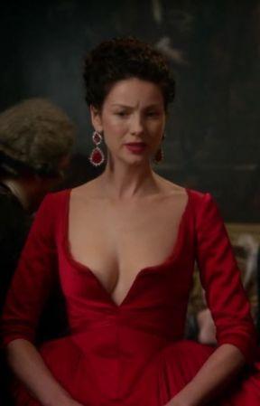 Image result for outlander red dress