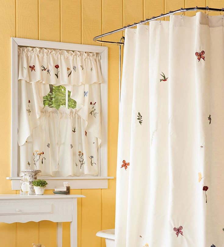 25 best images about Bathroom Window Curtains on Pinterest