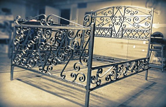 17 Best Images About Wrought Iron Beds On Pinterest