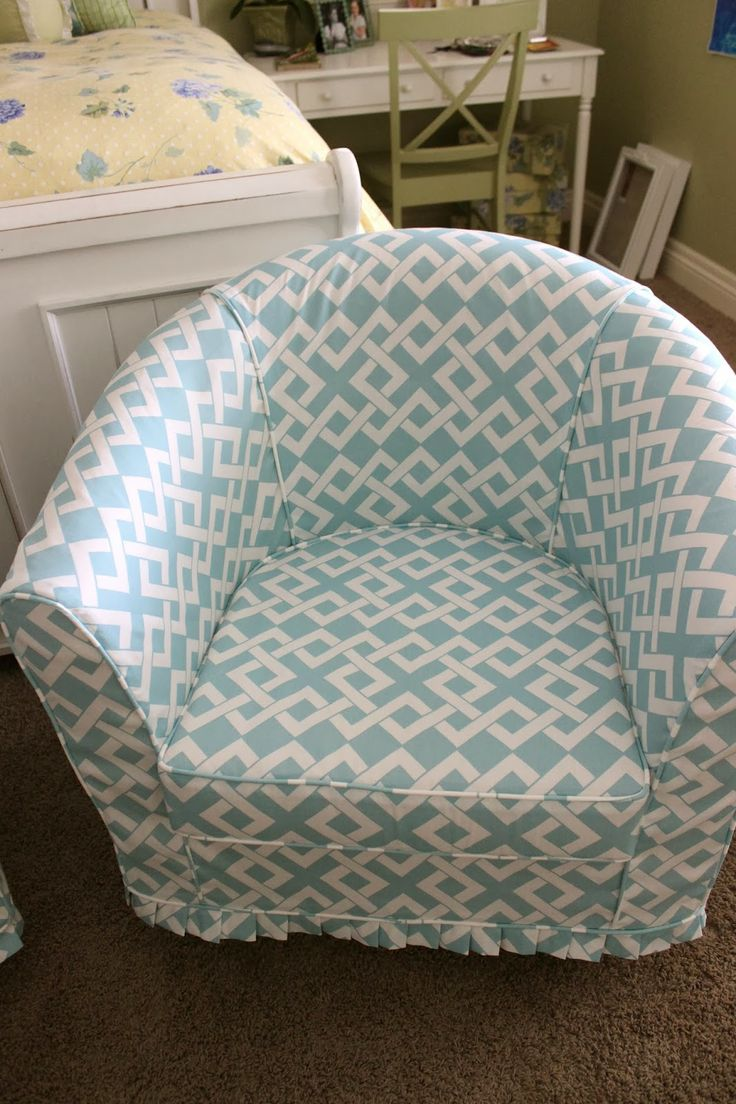 reupholstering a chair unfinished wood rocking ikea barrel slipcover | there was only bit of matching :)! my advanced guide ...