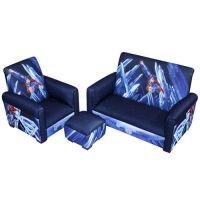 Superman Power Up Toddler 3-Piece Sofa, Chair & Ottoman ...