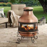 17 best ideas about Chiminea Fire Pit on Pinterest