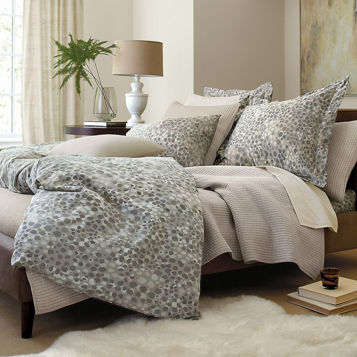 Snow Leopard Print WrinkleFree Sheets  Bedding  The