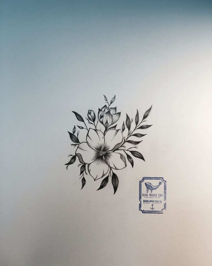 Best 25+ Flower Tattoo Designs Ideas On Pinterest