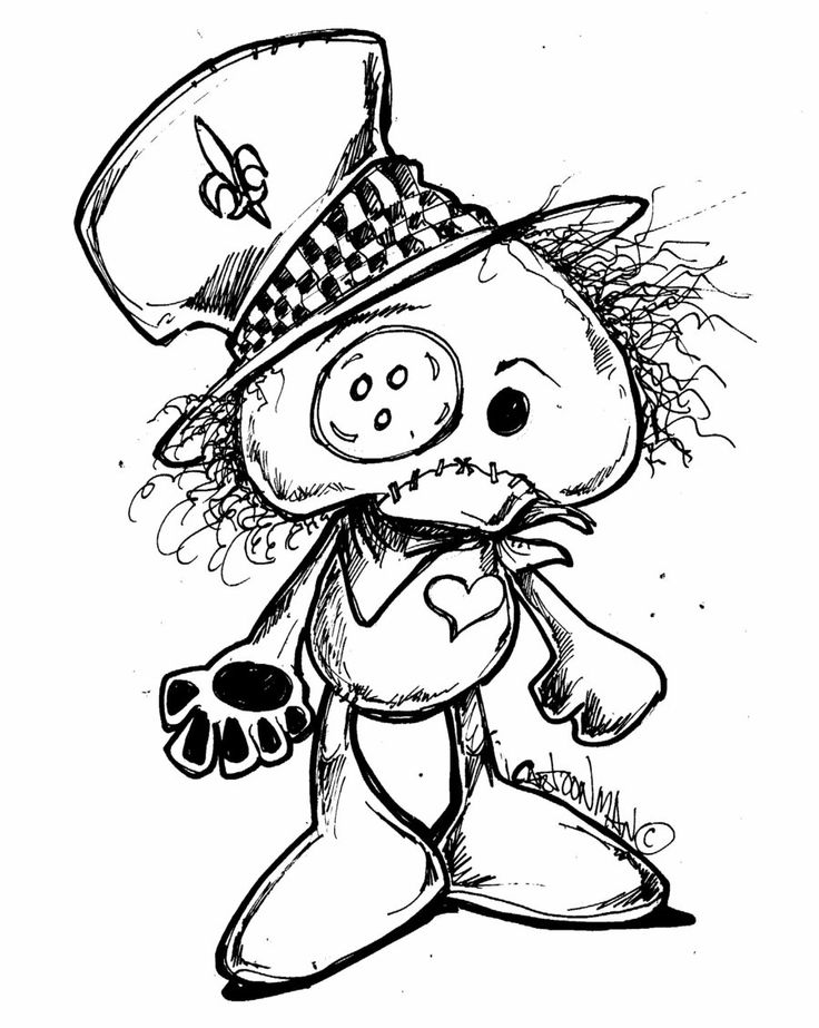 Voodoo Doll Coloring Page New Mardi Gras Voodoo Doll