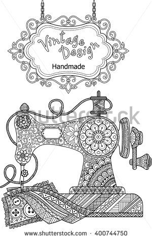 25+ best ideas about Vintage sewing machines on Pinterest
