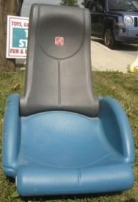 Step 2 Rock N Fold Plastic Rocking Gaming Chair USED ...