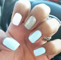 17 Best ideas about Light Blue Nails on Pinterest   Pastel ...