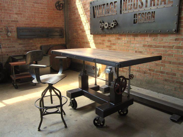 Antique Architect Drafting TableReproduction Vintage