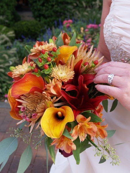20 best images about September wedding Flowers on Pinterest  Bride bouquets Burnt orange and
