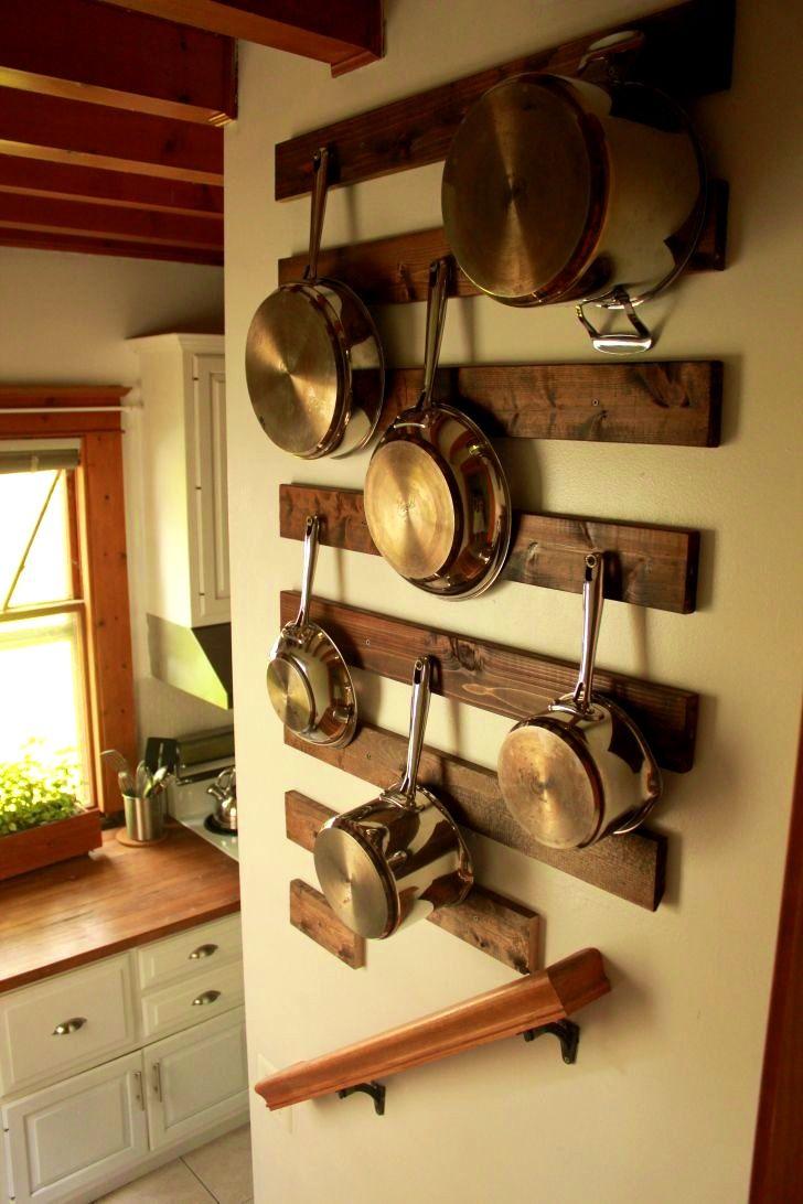 1000 ideas about Pot Rack Hanging on Pinterest  Pot
