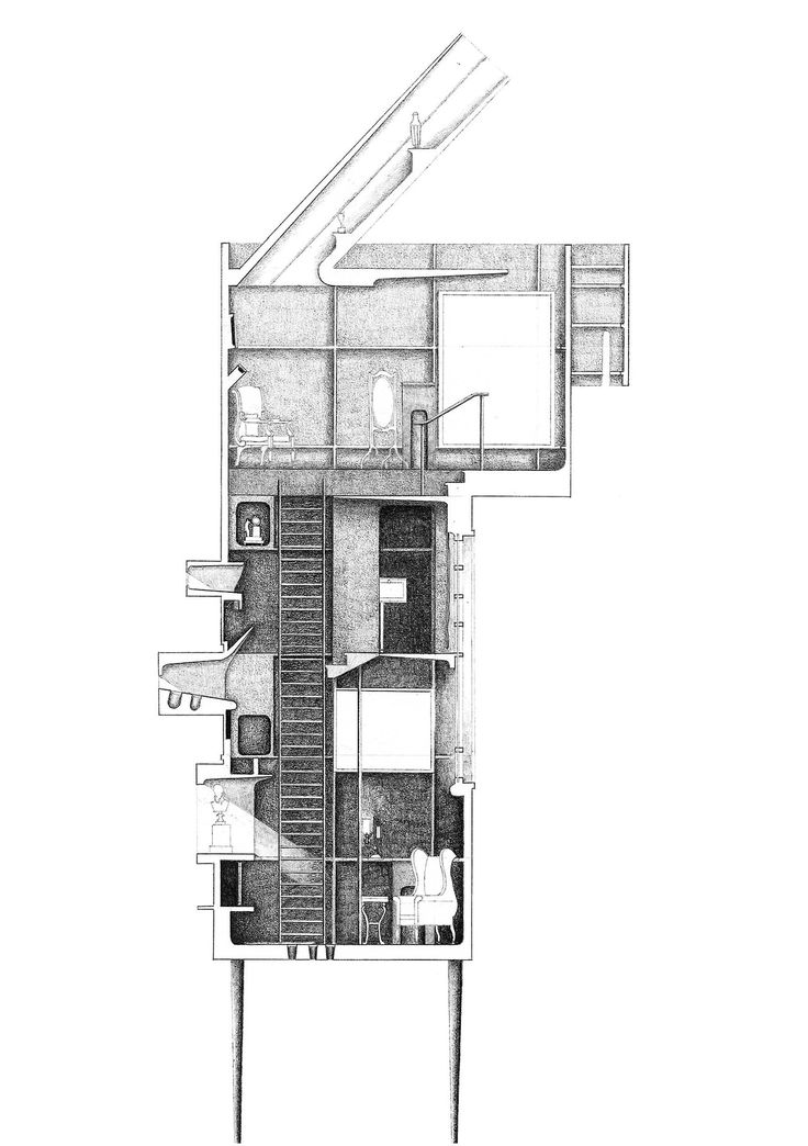 463 best images about Architectural Drawings on Pinterest