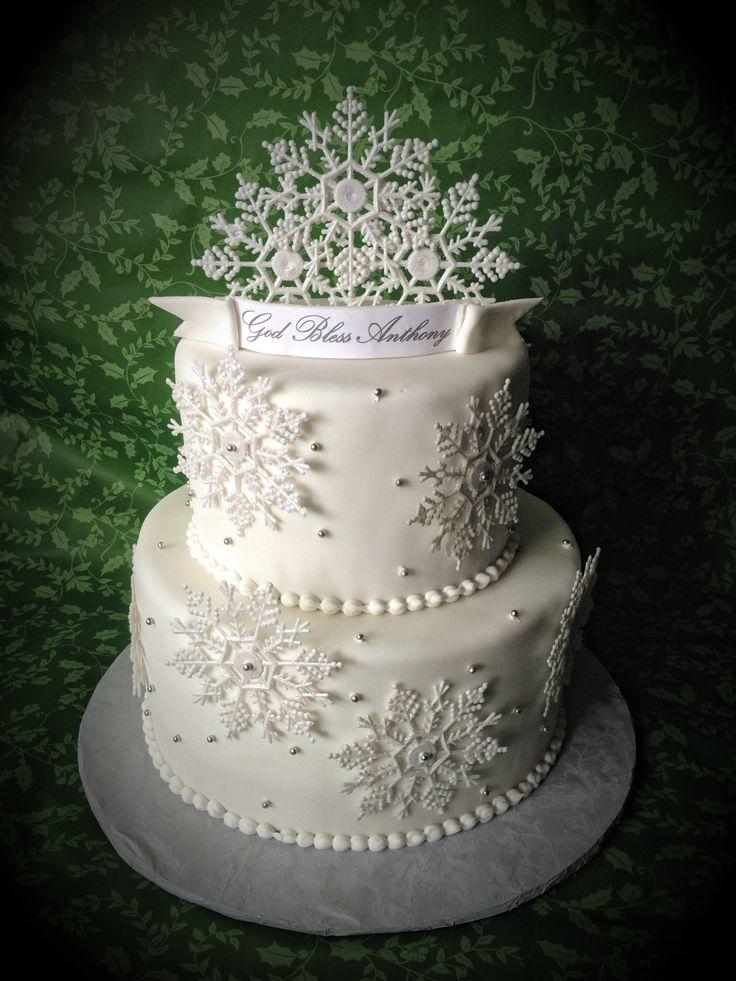 Winter Wonderland Cake Cakes I Love Pinterest Winter