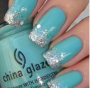 tiffany blue nails nailed